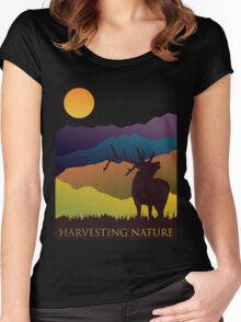 More Than the Mountains are Calling Women's Fitted Scoop T-Shirt