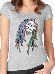 Dead King - Bob Marley Women's Fitted Scoop T-Shirt