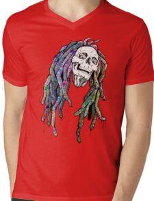 Dead King - Bob Marley Mens V-Neck T-Shirt