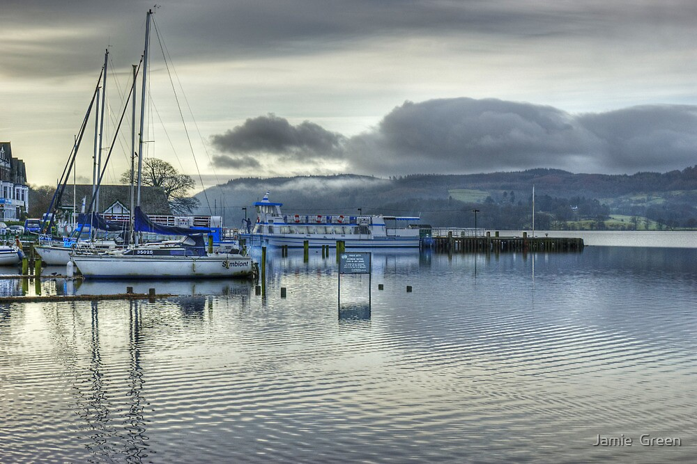A Day In The Lakes....Windermere by Jamie  Green