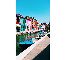 Burano, Venice Photographic Print