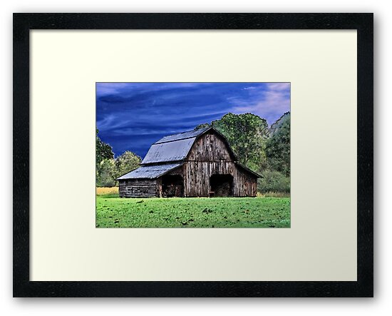 An Old Barn by RickDavis