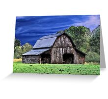 An Old Barn Greeting Card