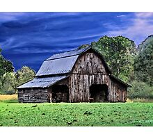 An Old Barn Photographic Print