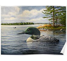 """Loon On The Roseway"" Poster"
