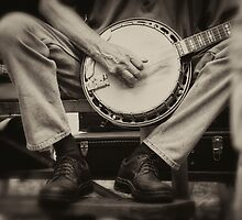 Picking the Banjo  by KellyHeaton