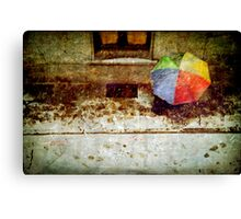 The umbrella Canvas Print