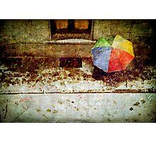 The umbrella Photographic Print