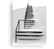 Hidden Steps Canvas Print