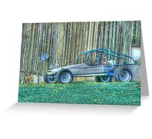 Dune Buggy (for Rick Davis) Greeting Card