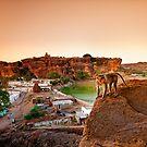 Badami Town II by Vikram Franklin