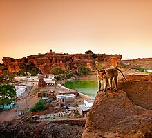 Badami Town II by Vikram Franklin