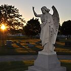 Angel and the sunset by jbsphotography