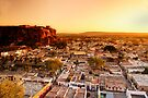 Badami Town III by Vikram Franklin