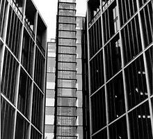 Highrise walking (35mm) by Darren Bailey LRPS