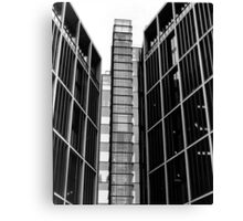 Highrise walking (35mm) Canvas Print