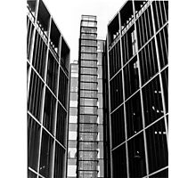Highrise walking (35mm) Photographic Print