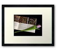 Theory and Practice Framed Print