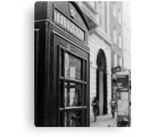 London Calling (35mm) Canvas Print
