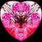 Pink Heart Dedicated 2the1Eye♥  (UF0116) by barrowda