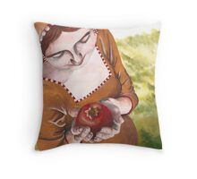 Mary and the Pomegranate Throw Pillow