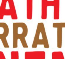 Death of Narrative Cinema Sticker