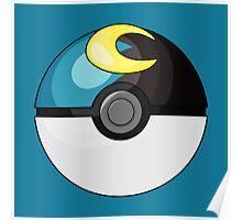 Moon Ball Poster