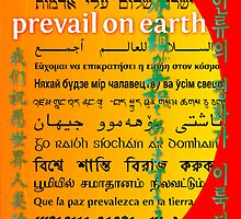 May Peace Prevail On Earth by Chuck Mountain
