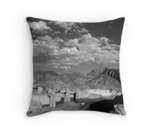 Dam View Throw Pillow