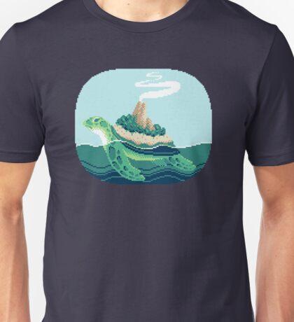 Gentle sea monster (Pixel) Unisex T-Shirt