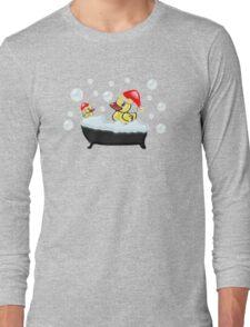 Christmas Ducks Long Sleeve T-Shirt