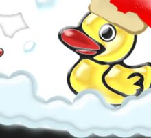 Christmas Ducks Sticker