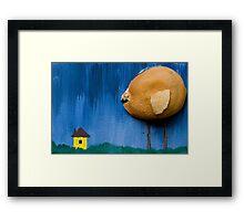 Killer Chick Framed Print