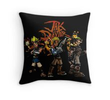 Jak and Daxter Throw Pillow