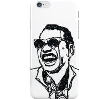 "Raymond Charles Robinson alias ""Ray Charles"" iPhone Case/Skin"