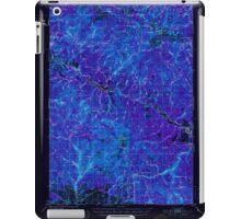 USGS Topo Map Oregon Bates 282240 1951 62500 Inverted iPad Case/Skin