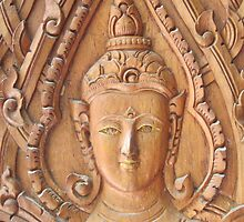 Thai Buddhist Wood Carving by Hugh Fathers