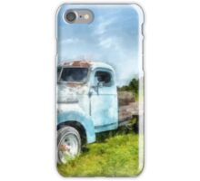 The Old Farm Truck iPhone Case/Skin