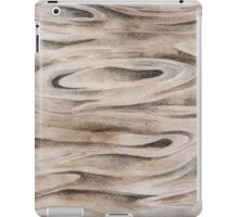 Wooden Texture painted in watercolor iPad Case/Skin