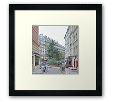 PARIS_View 065 Framed Print