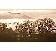 Foggy East Hill Photographic Print
