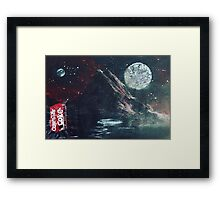 On a faraway planet... Framed Print