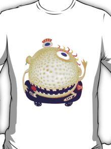 wacky head on a skateboard T-Shirt