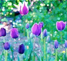 Tulip Mania by MsheArt2