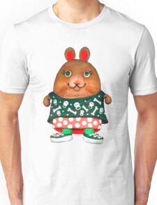 punk pet hamster Unisex T-Shirt
