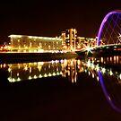Squinty Bridge Reflection by Katie Grainger