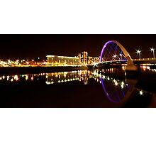 Squinty Bridge Reflection Photographic Print