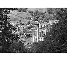 Looking Down on Rievaulx Abbey Photographic Print