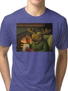 The Marvelous Mr. Mooseclaw Tri-blend T-Shirt