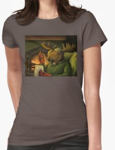 The Marvelous Mr. Mooseclaw Womens Fitted T-Shirt